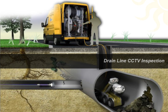 Drain Pipeline CCTV Inspection