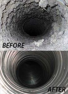 cleaning dryer vent