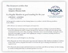 NADCA Membership