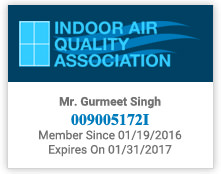IAQA(Indoor Air Quality Association) Membership