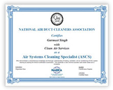 National Air Duct Cleaners Association Membership