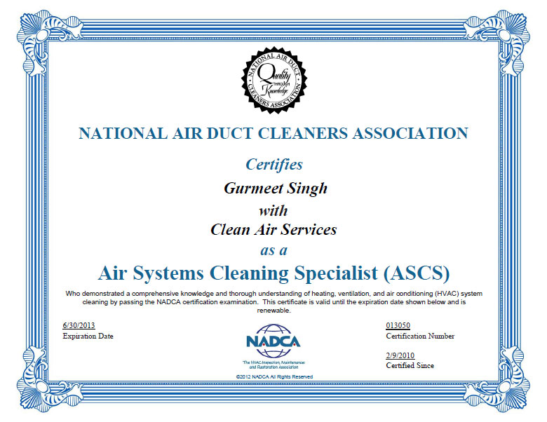... National Air Duct Cleaners Association Membership